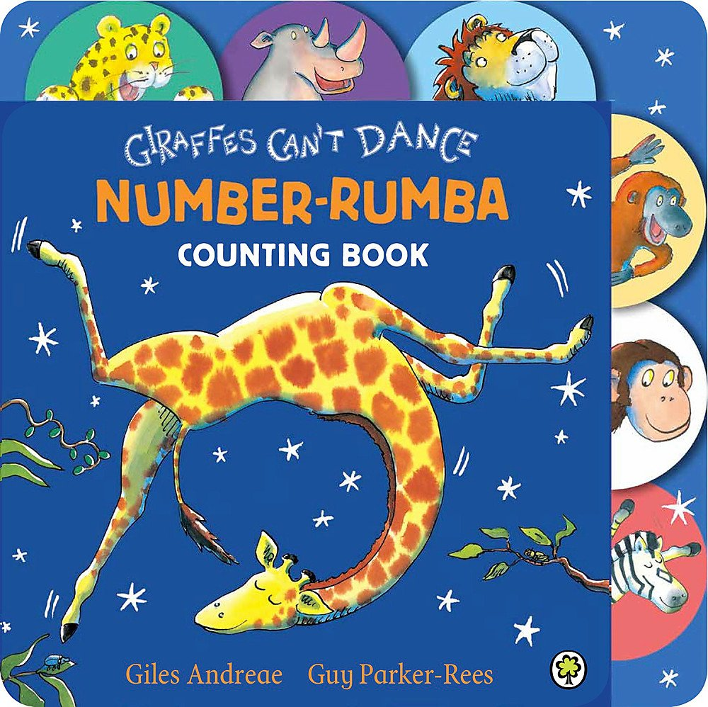 Giraffes Can't Dance Number Rumba Tabbed Board Book: Guy Parker-Rees Giles  Andreae: 9781408330050: Amazon.com: Books