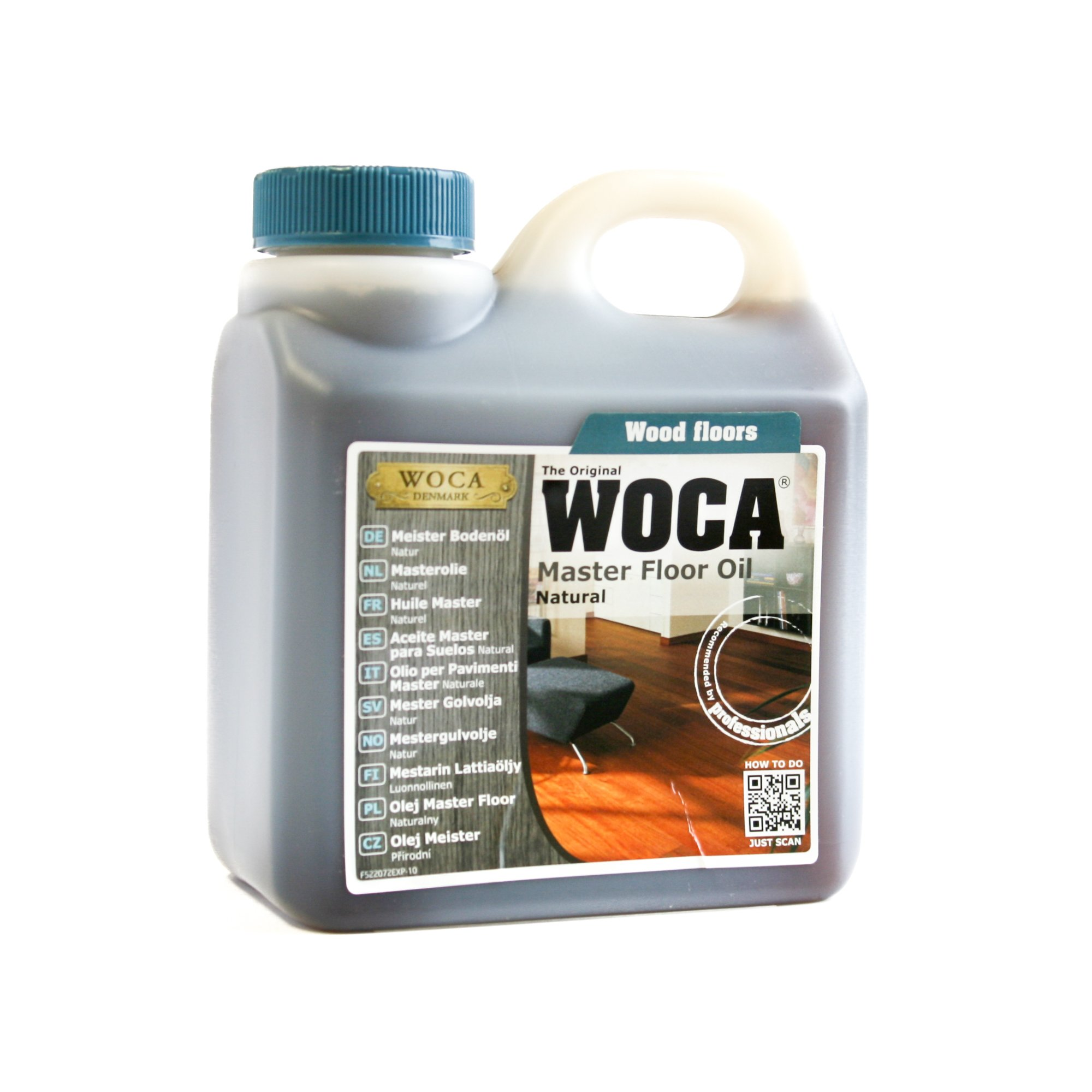 Woca Master Oil Natural 1 Liter by Woca Denmark