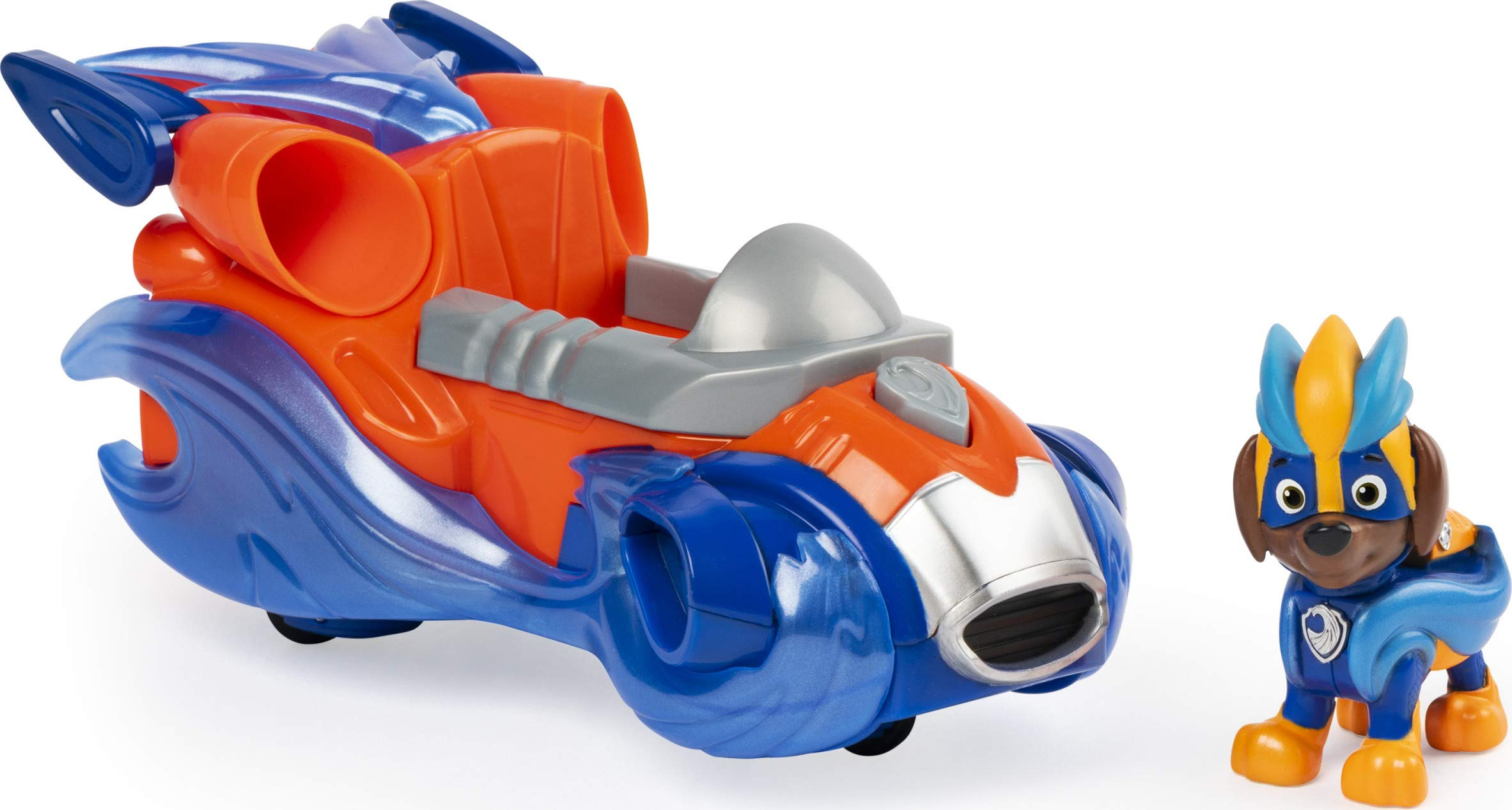 PAW Patrol Mighty Pups Charged Up Zuma's Deluxe Vehicle with Lights and Sounds