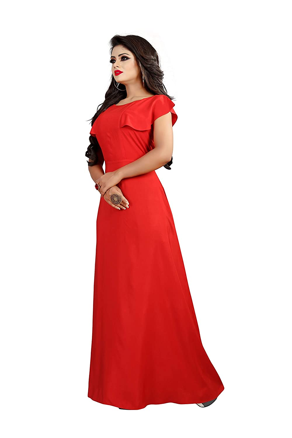 e3a5a3bf875 LEE FASHION RED Women s CREPE