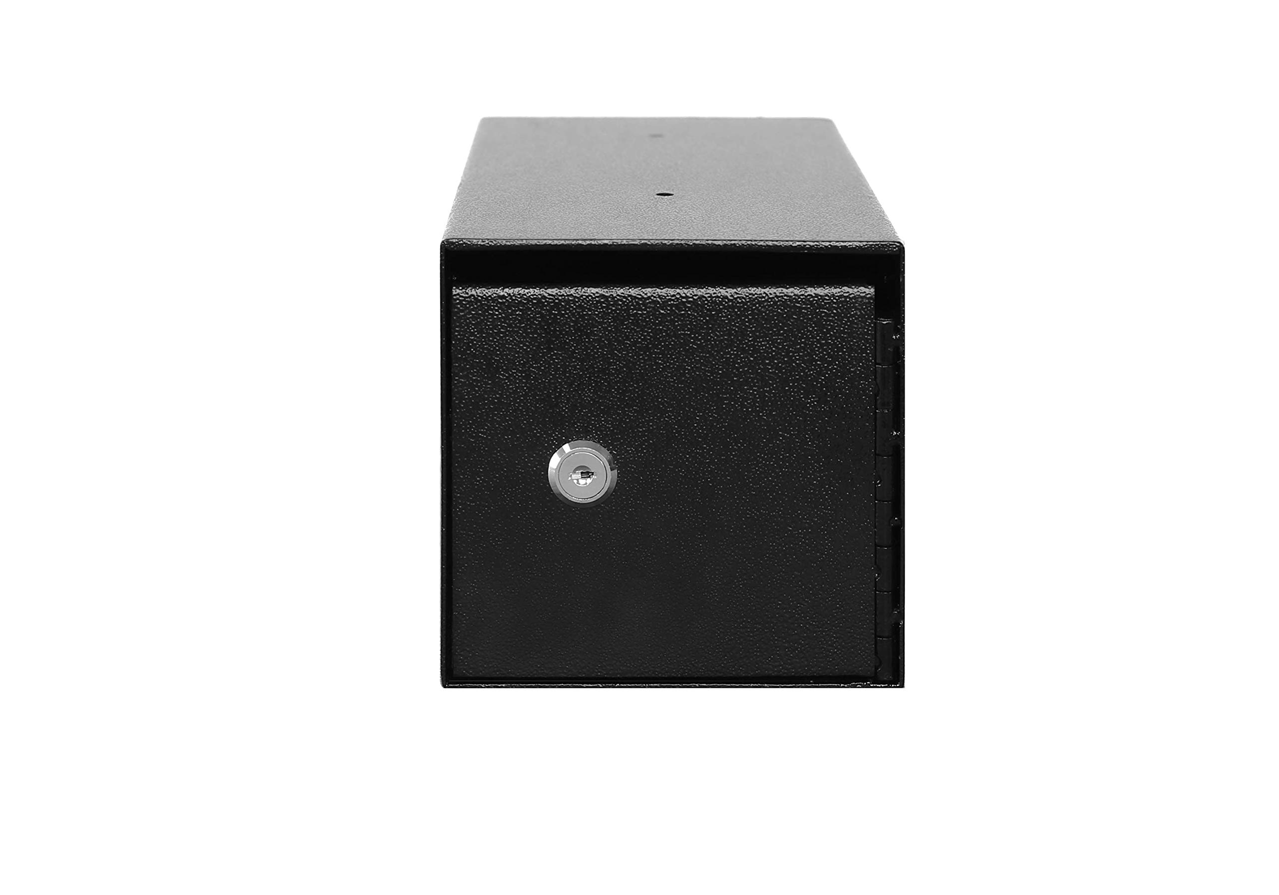 Templeton Small Depository Drop Safe with Key Lock, Anti Fishing Security, Black .23 CBF, Model T90 by Templeton