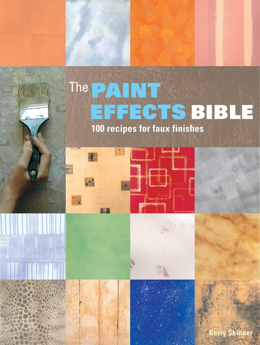 The Paint Effects Bible: 100 Recipes for Faux Finishes: Kerry Skinner:  9781770851405: Amazon.com: Books