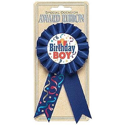 "Amscan 21153.44 Award Ribbon Party Favor, 5 1/2"", Navy Blue: Kitchen & Dining"