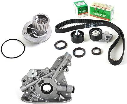 04-08 Chevrolet Aveo 1.6L Timing Belt V-Belt Kit /& Water Pump Valve Cover Gasket