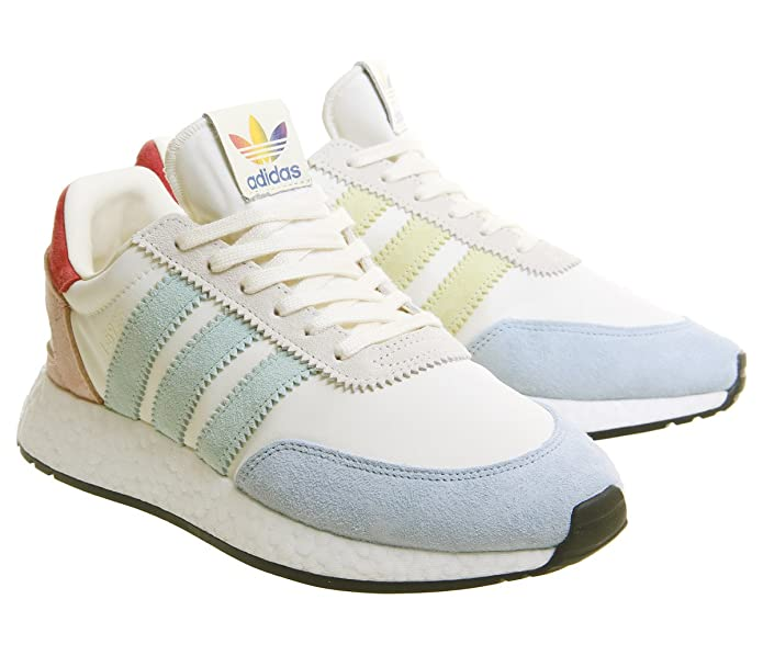 Amazon.com | adidas Mens I-5923 Pride, Cream White/Footwear White/CORE Black | Fashion Sneakers
