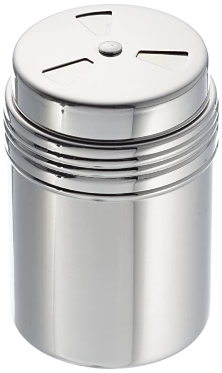 Städter 705098 Multiusos Salero, Acero Inoxidable, 150 ml, 8 ...