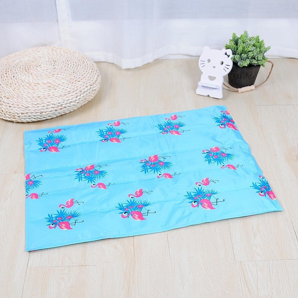 D 9060cmWUTOLUO Pet Bolster Dog Bed Comfort dog mat (color   B, Size   90  60cm)
