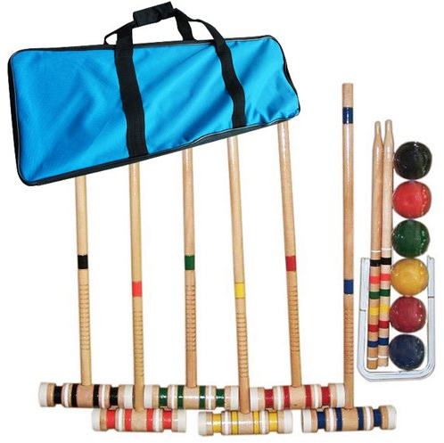 Croquet Set w/ Carrying Case | One Kings Lane