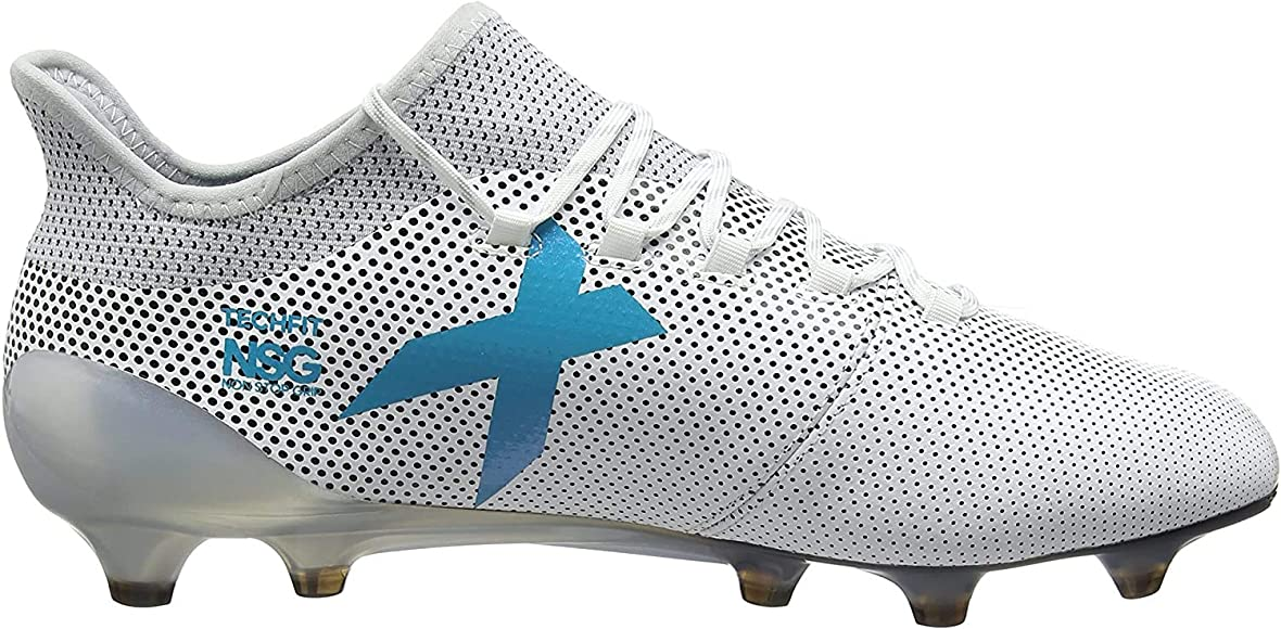 adidas X 17.1 FG, Chaussures de Football Homme, Blanc