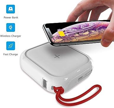 Cargador inalámbrico portátil MIPOW, batería externa ultra ...