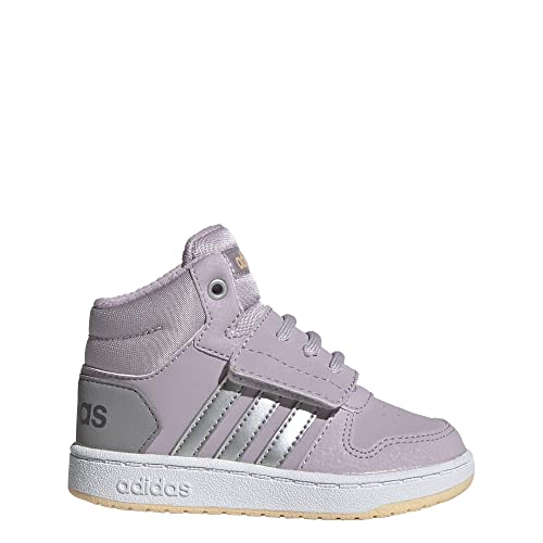 adidas Unisex Baby Hoops Mid 2.0 I Hausschuhe