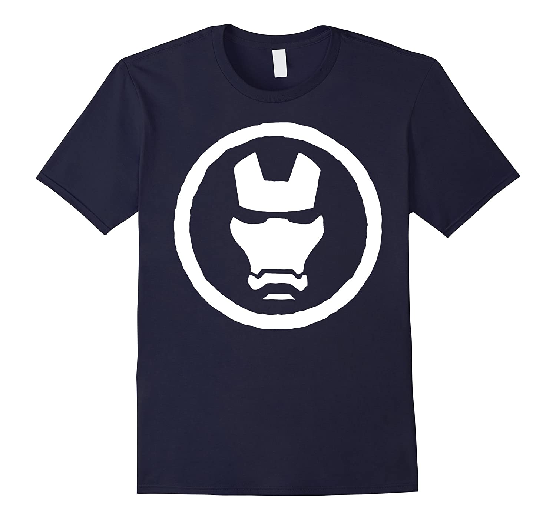 Marvel Iron Man Mask Graphic T-Shirt-PL