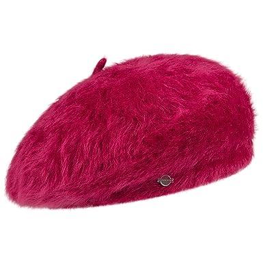 7efe0956bf4 Angora Beret Seeberger women ´s beret winter beret (One Size - fuchsia)