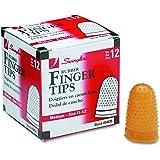 Swingline Rubber Finger Tips, Size 11 1/2, Medium, 12/Box (54035)