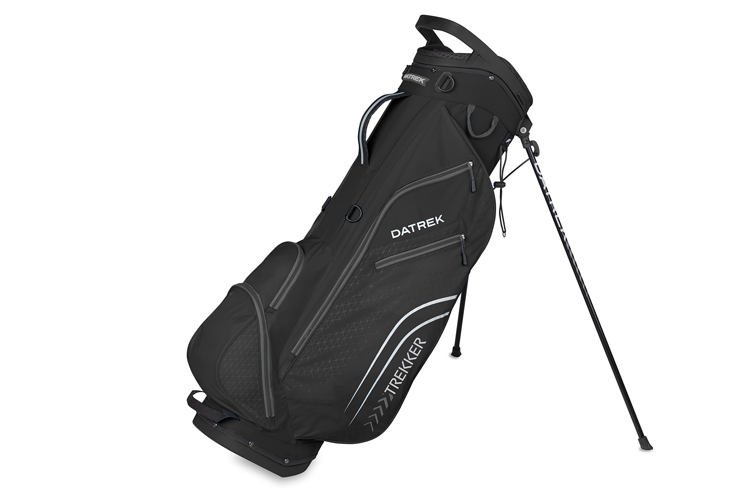 Datrek Golf Trekker Ultra Lite Stand Bag (Black/Charcoal)