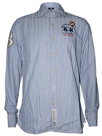 LA MARTINA Hombre Diseñador Polo Camisa - 1936 -XXL: Amazon.es ...