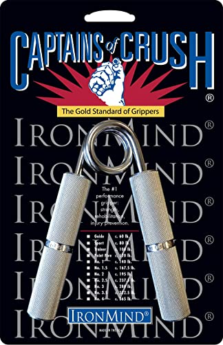IronMind Captains of Crush Hand Gripper The Gold Standard of Grippers and The World s Leading Hand Strengthener