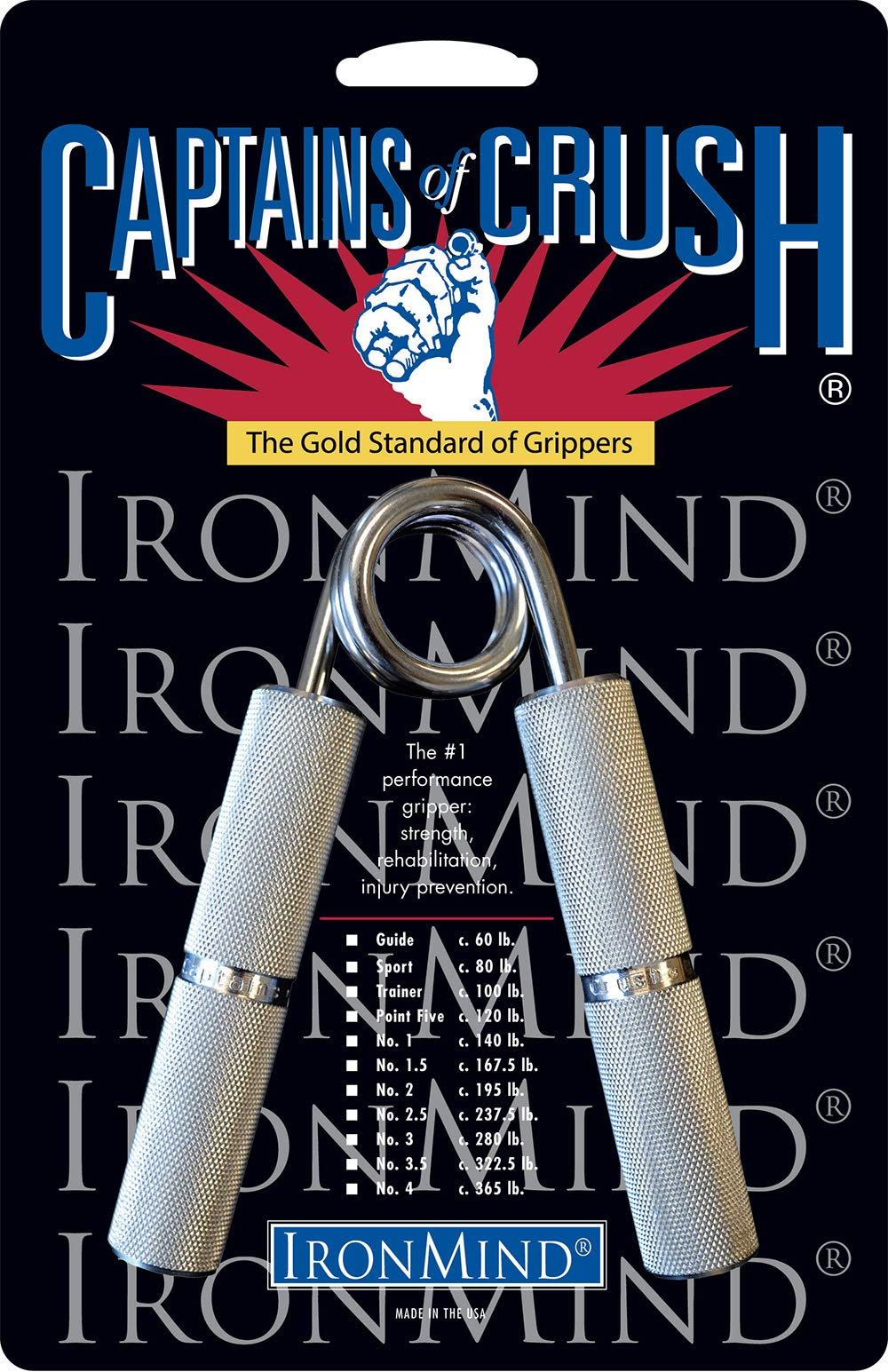 IronMind Captains of Crush Hand Gripper - No. 1 by IronMind (Image #1)