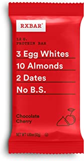 product image for RXBAR, Chocolate Cherry, Protein Bar, 1.83 Ounce (Pack of 12), High Protein Snack, Gluten Free