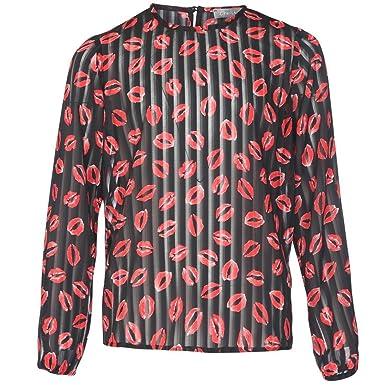 Outlet zum Verkauf bester Großhändler authentisch Geisha Geisha Top - Black-red Blusen & Tuniken: Amazon.de ...