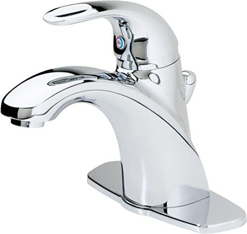 Pfister LG42-AMCC Parisa Single Control 4 Centerset Bathroom Faucet in Polished Chrome, 1.2gpm