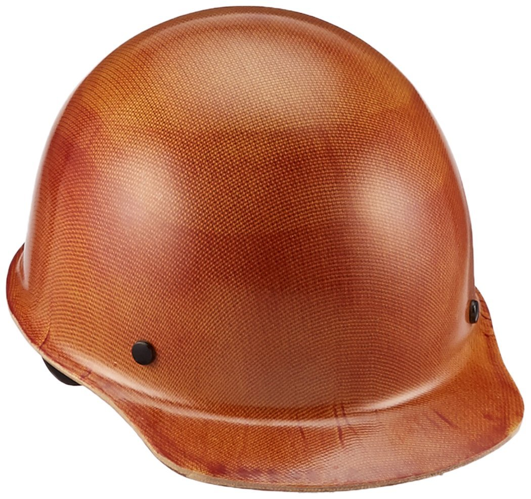 MSA Safety 475405 Skullgard Protective Cap  W/ Fas-Trac III Suspension, Natural Tan, Large