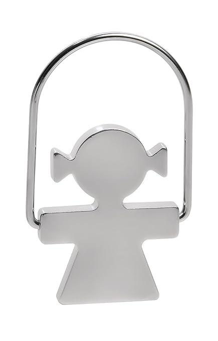 Amazon.com: Alessi Aleesi AKK44 W Girotondo Woman Key Ring ...