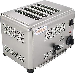Hakka Heavy-Duty Switchable Bread 4-Slice Commercial Toaster