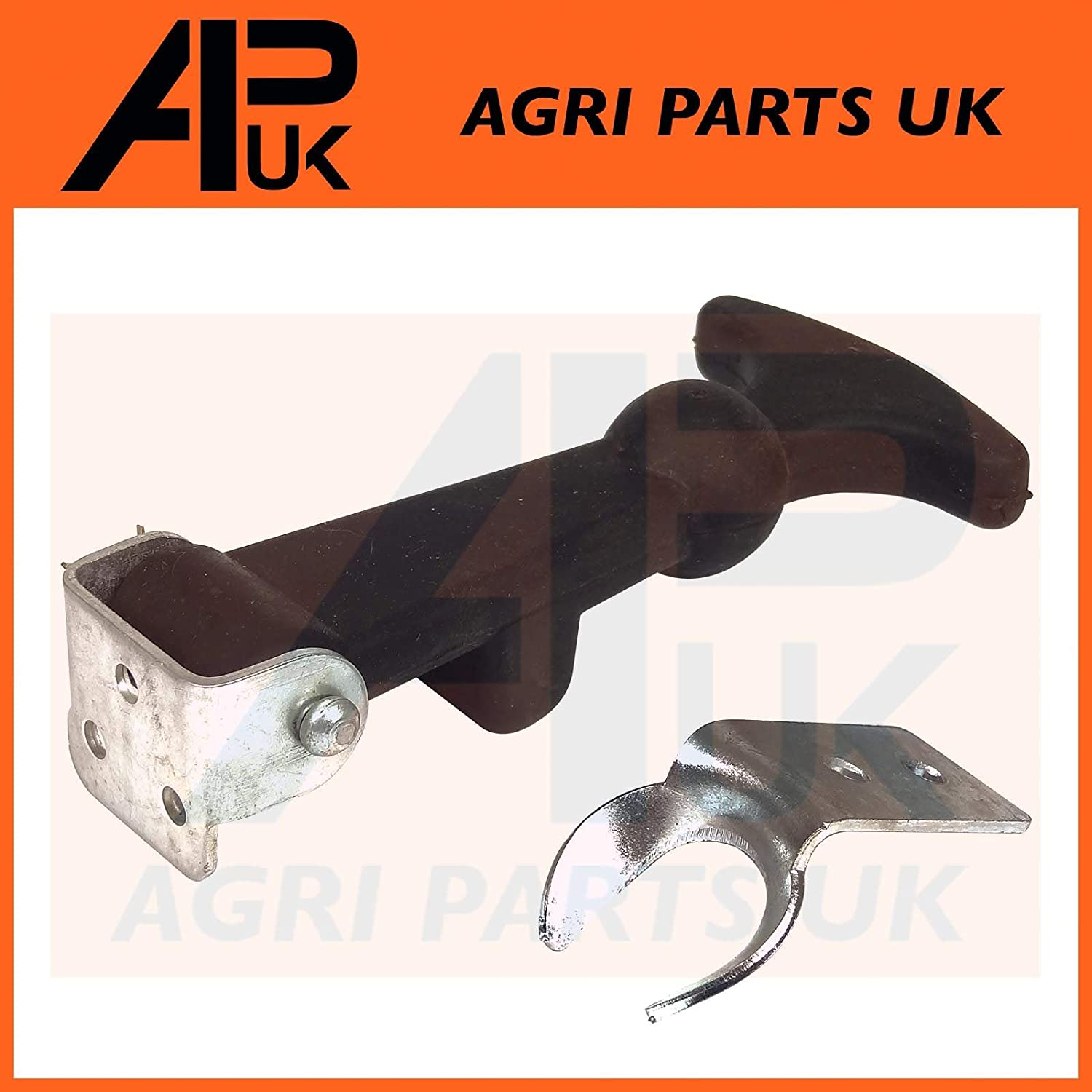 APUK 10x Rubber Bonnet Boot Fastener Catch Pull Strap Pannel Hook Tractor Lorry Boat