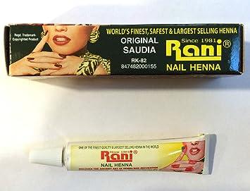 94ceee8c9 Rani Nail Henna Mendi Tube High Quality Original Made in Saudi ...