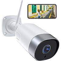1080P Camara Vigilancia WiFi Exterior, SUPEREYE Cámara IP Seguridad con 5dBi Antena WiFi Cuerpo Metálico Visión Nocturna…