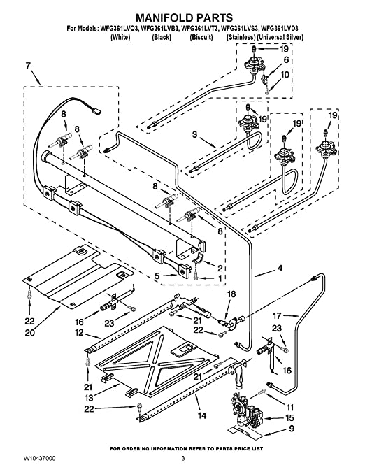 amazon w10314242 whirlpool manifold pipe home improvement Parallel Circuit Resistance Formula