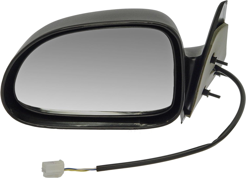 Dorman 955-078 Driver Side Power Door Mirror for Select Dodge Models, Black