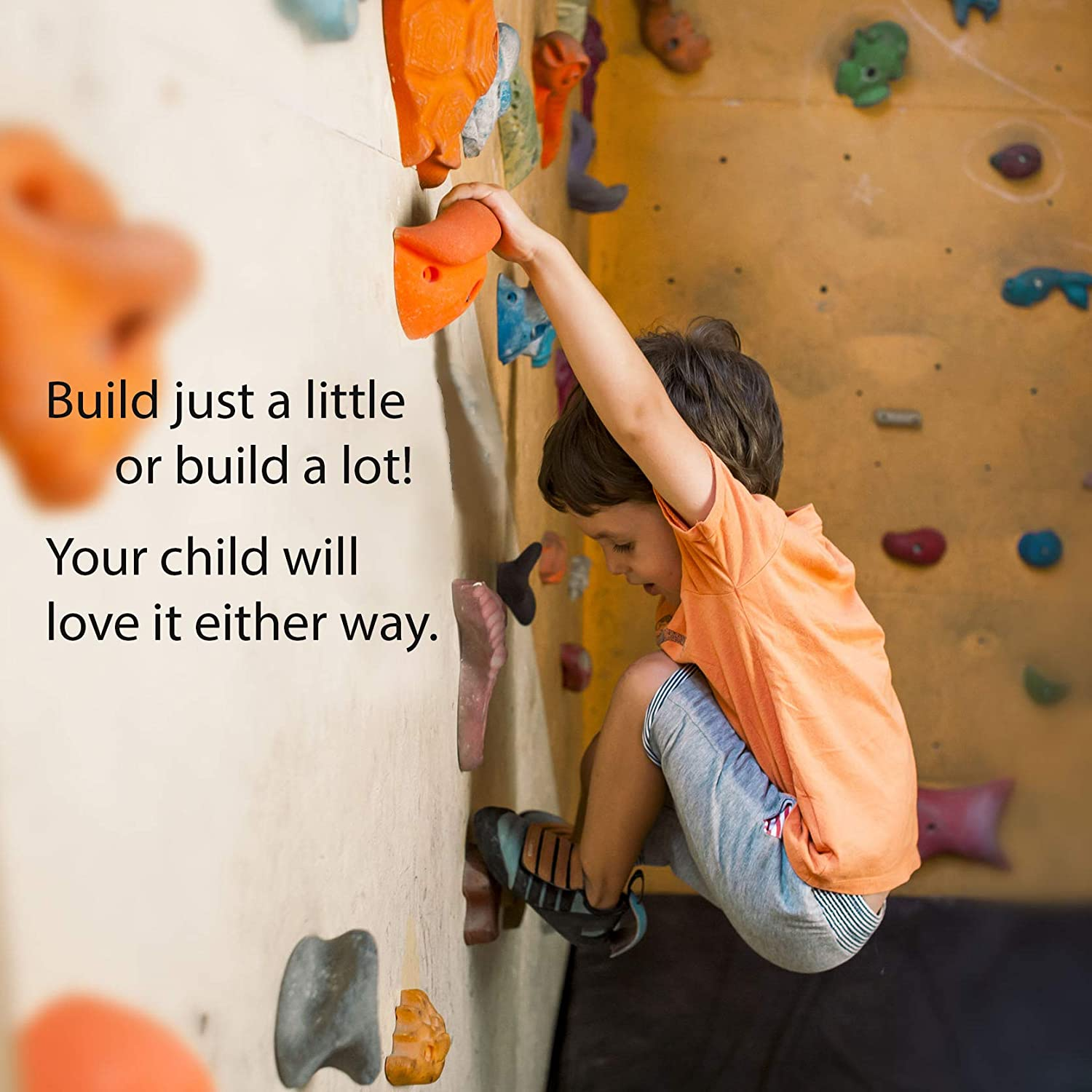 Rock Wall Holds for Rock Climbing for Kids Outdoor and Rock Climbing Wall Rock Climbing Indoor Rock Climbing Holds for Kids 27 Set Climbing Wall Holds for Kids Outdoor