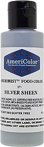 AmeriColor Amerimist Airbrush Color 4.5 Ounce, Silver Metallic Sheen