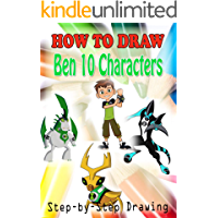 How to Draw Ben 10 Roblox : Easy Step-by-step Drawing (Children's Drawing Books)