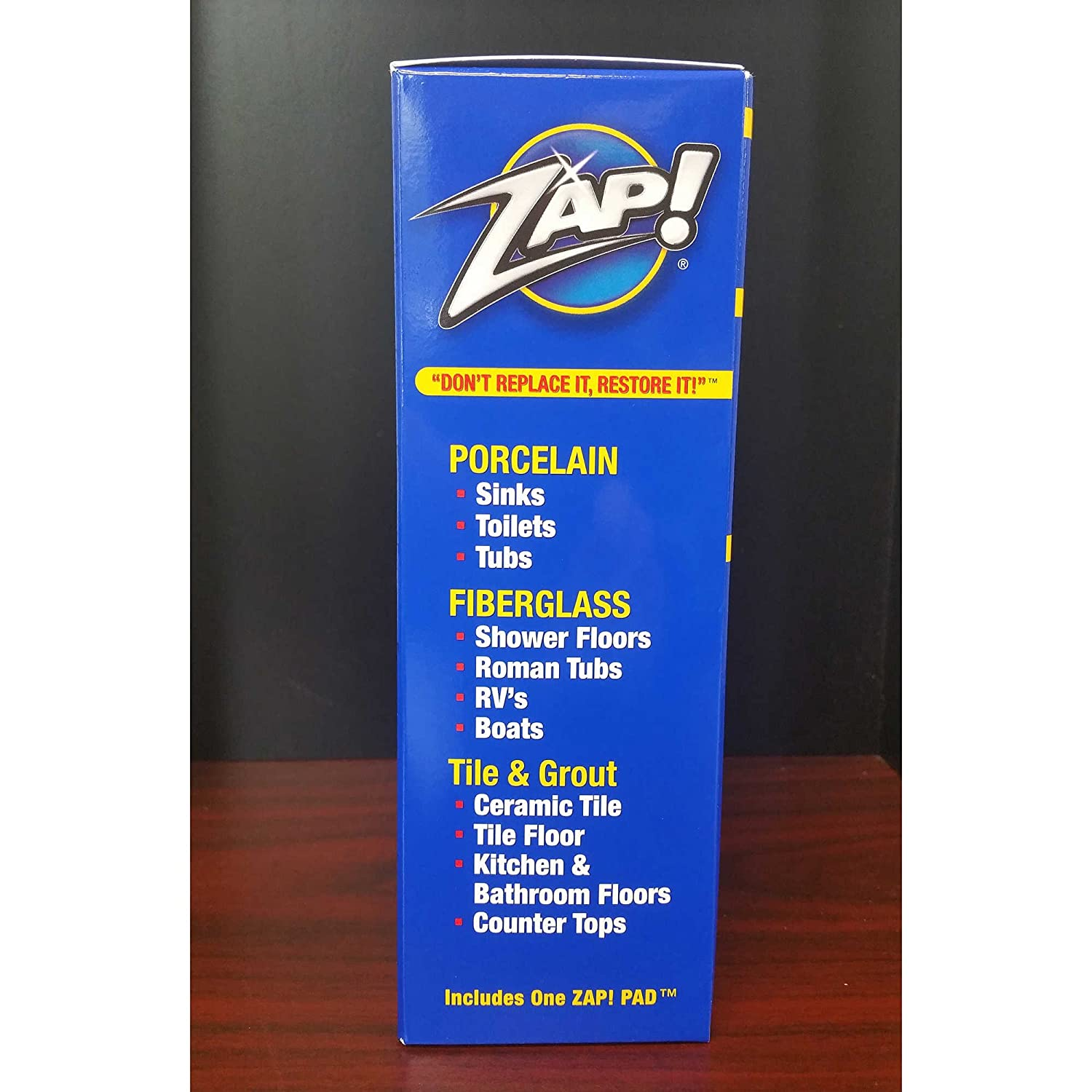 Zap Professional Cleaner Restorer Concentrate Twin Pack