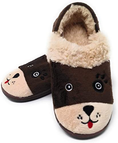outdoor use Wonder Nation Leopard slippers for indoor