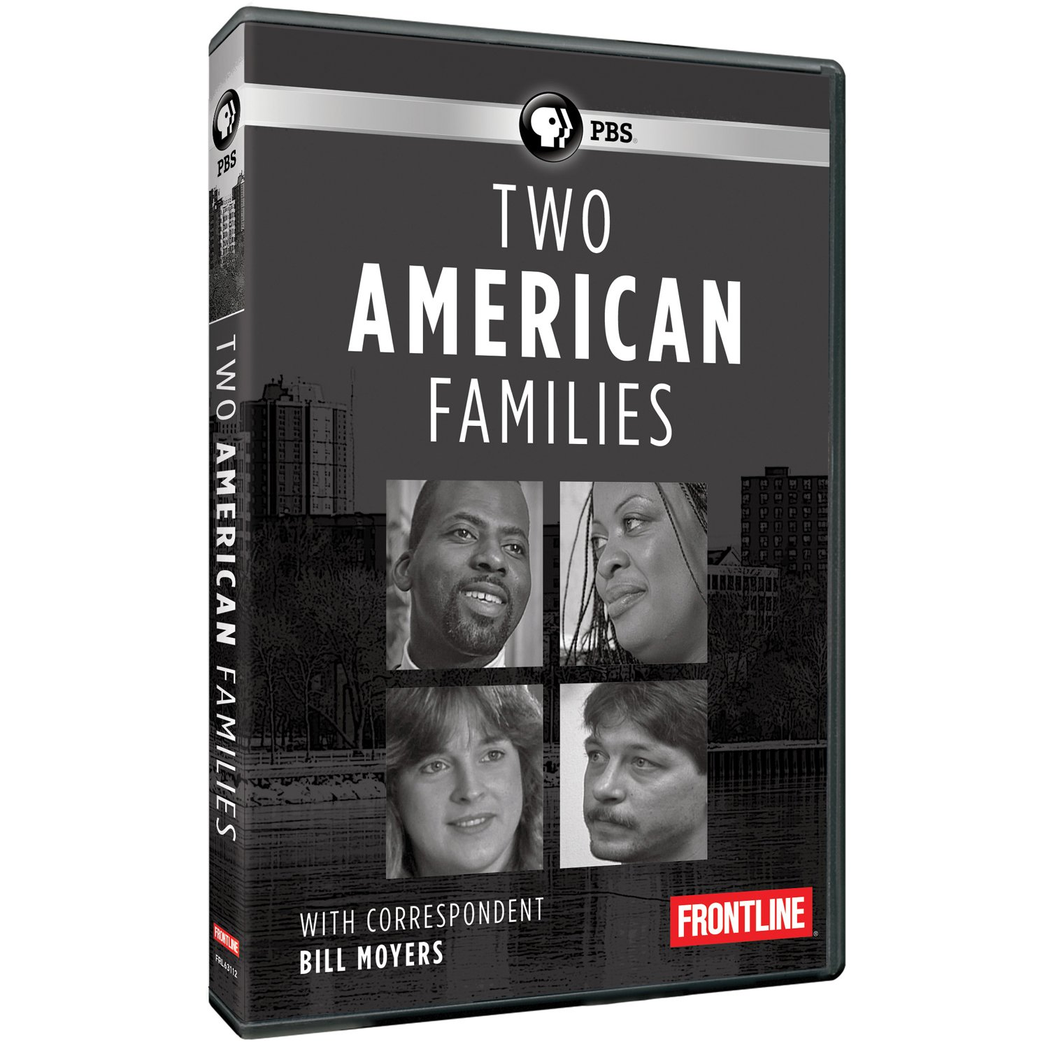 DVD : Frontline: Two American Families (DVD)