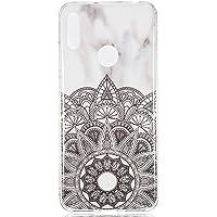 Lomogo Funda Huawei Y6 2019/Y6Pro 2019, Carcasa Silicona Suave Gel Case Antigolpes Antideslizante Anti-Rasguño TPU Cover Caso para Huawei Y6 2019/Honor 8A - LOYHU190219#3