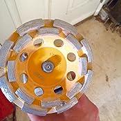 Dewalt Grinding Wheel Double Row Diamond Cup 4 1 2 Inch