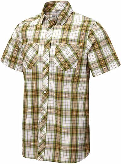 Craghoppers - Camisa de manga corta a cuadros modelo Kalifa ...