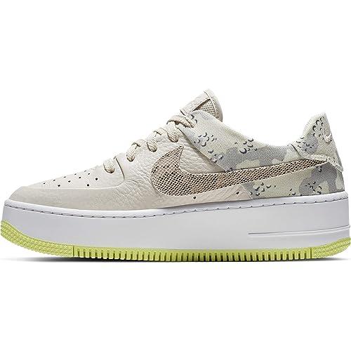 Nike W Air Force 1 Sage LO PRM, Zapatillas de Baloncesto para ...