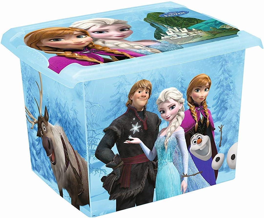 SET DE DOS MODA Caja Disney Frozen 20l+ 10l Caja de almacenamiento caja de juguetes: Amazon.es: Bebé