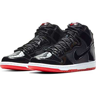 50ead25c97c5 Image Unavailable. Image not available for. Color  NIKE SB Zoom Dunk High  TR QS  Bred  ...