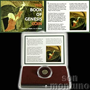 BOOK OF GENESIS COIN - Ancient Biblical Semitic Judaea Elymais Drachm - Historic Coin from Jewish Bible Torah - Nation of Elam, Son of Shem