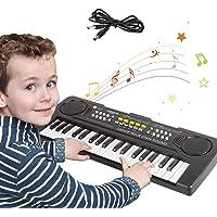 Pianos Infantiles,Teclado Piano Niños 37 Teclas Electrónico Música Teclado Piano Mini Teclado Portátil Enseñanza Juguete…