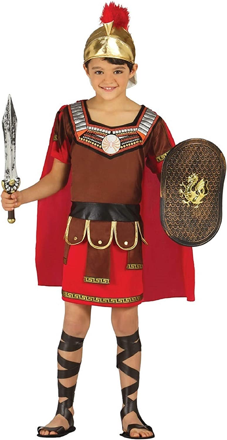 CSW70 Gladiator Roman Mens Costume Warrior Spartan Soldier Book Week Outfit