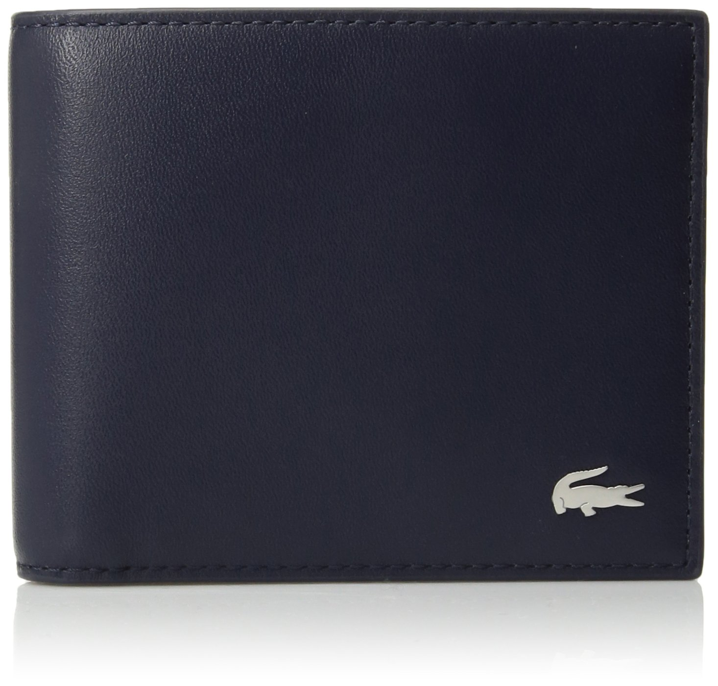 Lacoste Men's FG Small Billfold Wallet, Peacoat, One Size by Lacoste