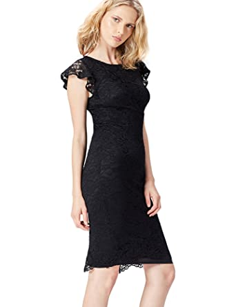 FIND Tubino Midi in Pizzo Donna  Amazon.it  Abbigliamento 55327d139df